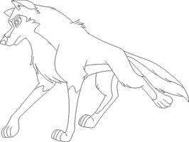 Wolf Base 6 by FeralHeartsFan