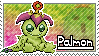 Palmon Stamp by Thunderbirmon