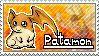 Patamon Stamp by Thunderbirmon