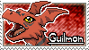 Guilmon Stamp by Thunderbirmon