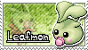 Leafmon Stamp by Thunderbirmon