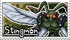 Stingmon Stamp by Thunderbirmon
