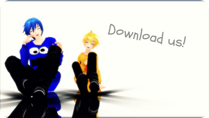Hoodie Kaito and Len + DOWNLOAD by Espirea