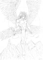 Angel Commission by cakinsey1991