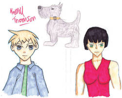 Second year Animation Chars. by telruya
