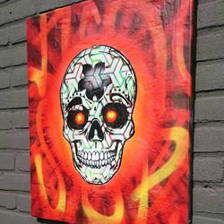 #Skull  by D-R-A-M-A