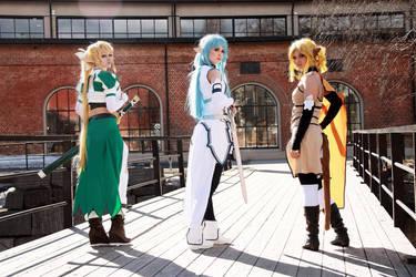 Sword art online Group Cosplay by mercaspro