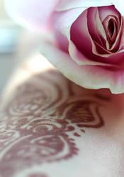 Shadow of a Rose by BidWiya