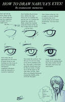 How To Draw Naruya's Eyes by evanescent-memories