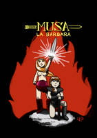 Muse the Barbarian / Musa la barbara by gurrupurru