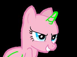 Evil Pony base by Invader-Alexis2