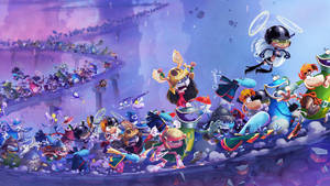 Rayman Legends RUSH by vgwallpapers