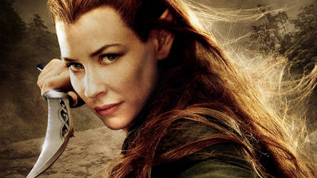 The Desolation of Smaug Tauriel by vgwallpapers