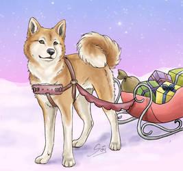 White Christmas by Samurai-Akita