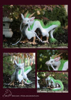 Haku Dragon Plush by Samurai-Akita