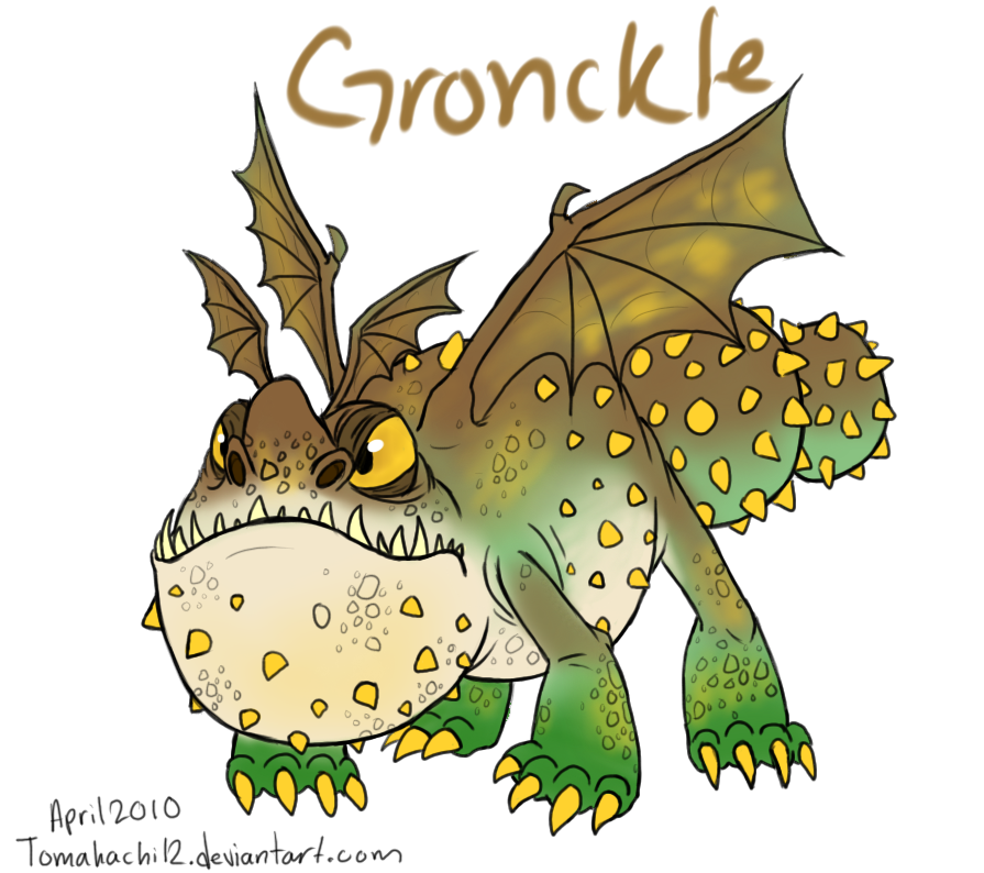 httyd gronckle by tomahachi12 on deviantart