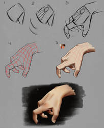 Hand Construction Step by Step by Wraeclast