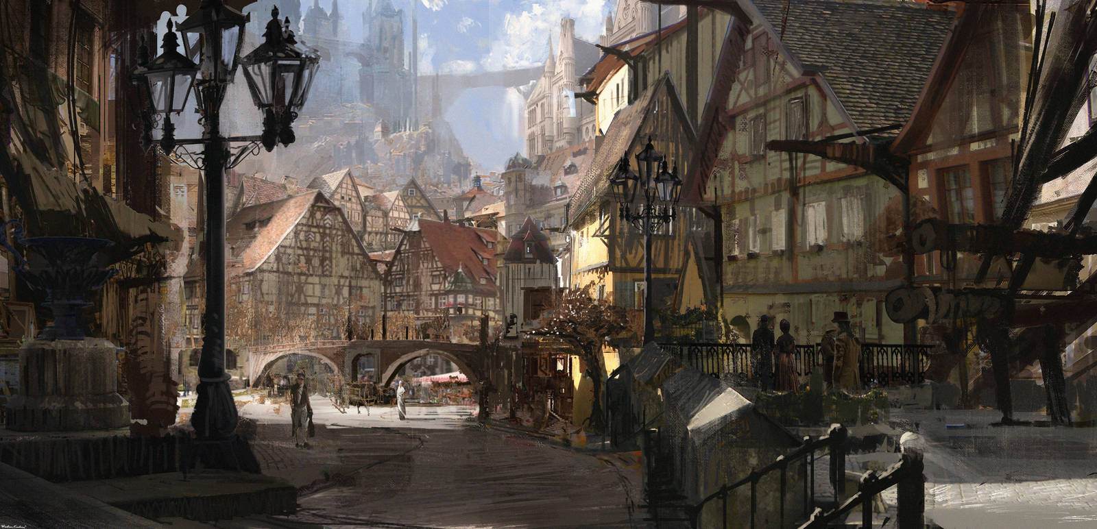 Grand Square (concept_street) by SolarSouth