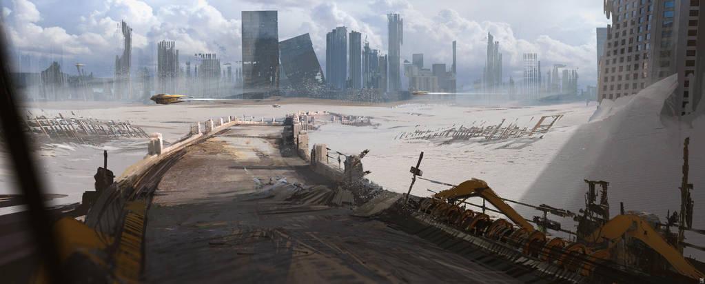 Desert_City by SolarSouth