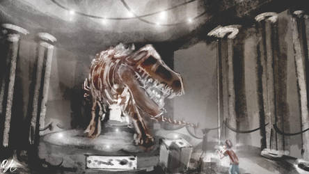 Spitpainting | Day 20 - The Museum by qinyichow