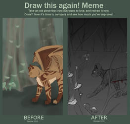 Draw This Again - dark forest 2010-2018 by Owl-Flight