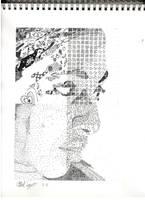 Pen Portrait by xMezMezx