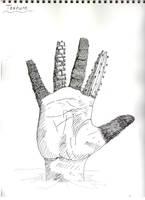 Texture Hand by xMezMezx