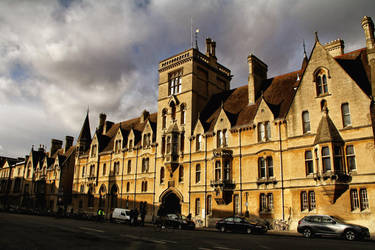 Oxford by woraz
