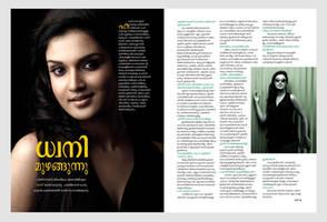Magazine layout by hereisanoop