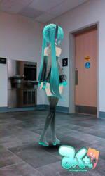 Miku Hatsune walking to the bathroom by Lark-Catalpa-Royal8