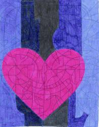 Heart out of Darkness by JadeFoxScarletIbis
