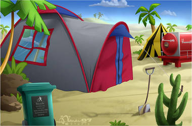 CMBG: Camp 1 by AimanStudio