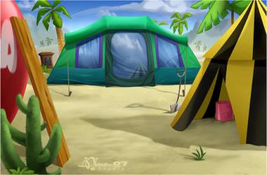 CMBG: Camp 2 by AimanStudio