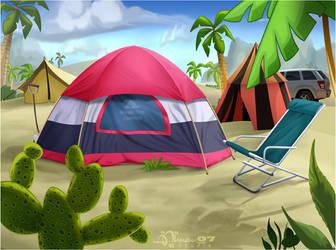 CMBG: Camp 3 by AimanStudio