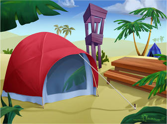 CMBG: Camp 4 by AimanStudio