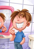 KBC: Teeth Brushing by AimanStudio