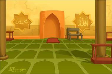 CMBG: Mosque 2in by AimanStudio