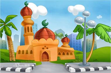CMBG: Mosque 2 by AimanStudio