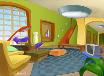 CMBG: Living Room 2 by AimanStudio