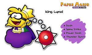 PMFOF - King Lynal by Piranhartist