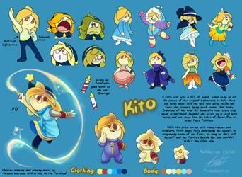 Reference Sheet Kito 2018 by Piranhartist
