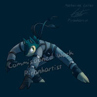Comm - Ivan-Typhlosion Costume - Snake by Piranhartist