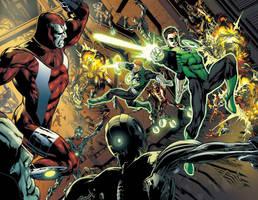 Test Green Lantern by diogonascimento