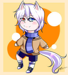 chico gato o lobo? [Premio para Meyuka] by cookiefiolee