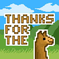 Thanks For The Llama by Legendarypixel