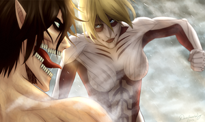Obstructing the Truth | SNK by DivineImmortality