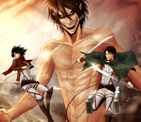 Humanity's Advantage! | SNK by DivineImmortality
