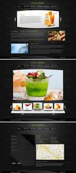 Food webinterface by Downgraf