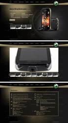 Sony Ericsson Mix Walkman by Downgraf