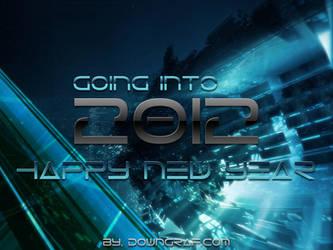 New Year 2012 Wallppaper by Downgraf